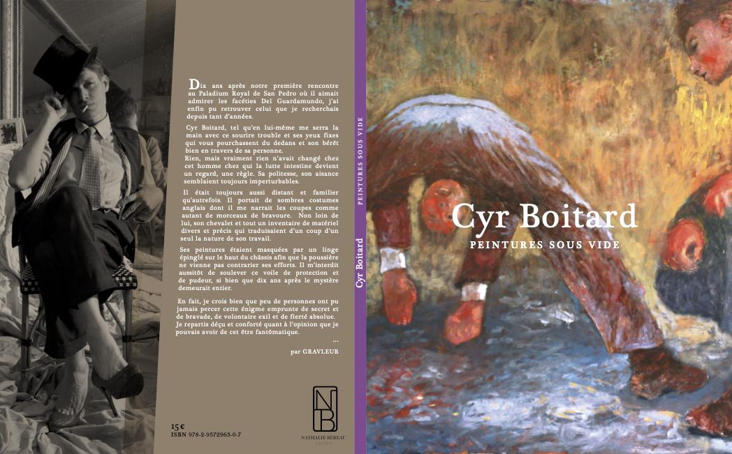 Cyr Boitard  Peintures sous vide / Vacuum paintings